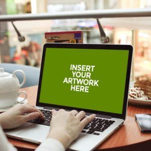 دانلود موکاپ صفحه نمایش لپ تاپ, پیش نمایش تصویر در صفحه نمایش لپ تاپ, موکاپ لپ تاپ