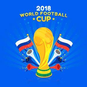 دانلود وکتور جام جهانی 2018, دانلود وکتور جام جهانی, وکتور کاپ طلای جام جهانی فوتبال, وکتور ورزشی