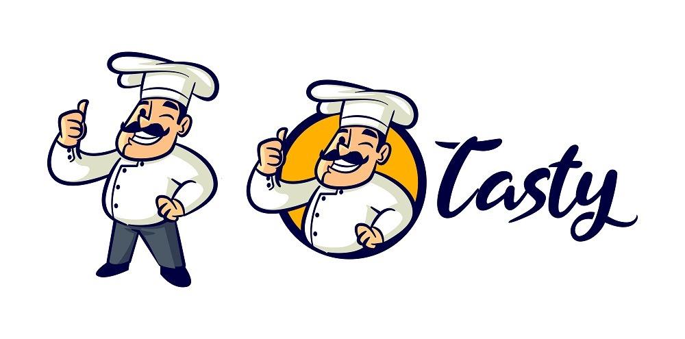 وکتور آشپز سیبیل دار, وکتور رایگان آشپز, وکتور chef