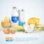 وکتور لبنیات,وکتور شیر,وکتور لبنیاتی,دانلود وکتور,وکتور رایگان